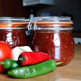 Delicious Spicy Homemade Tomato Chilli Jam Recipe