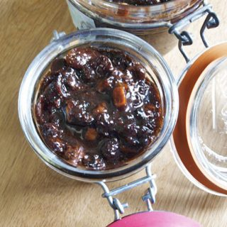 Dark Chocolate Mincemeat, so delicious, such a great idea