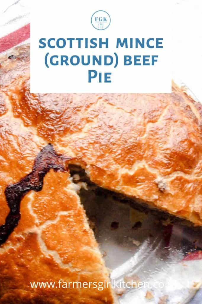 Mince Beef Pie Recipe from Scotland