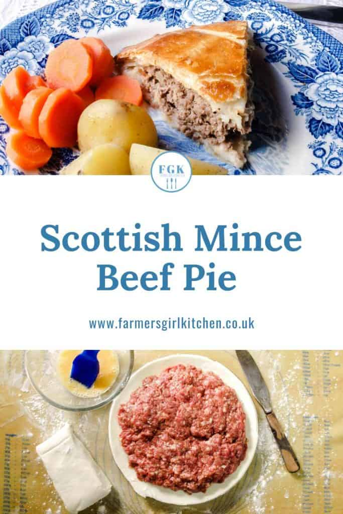 Recipe for Scottish Mince Beef Pie