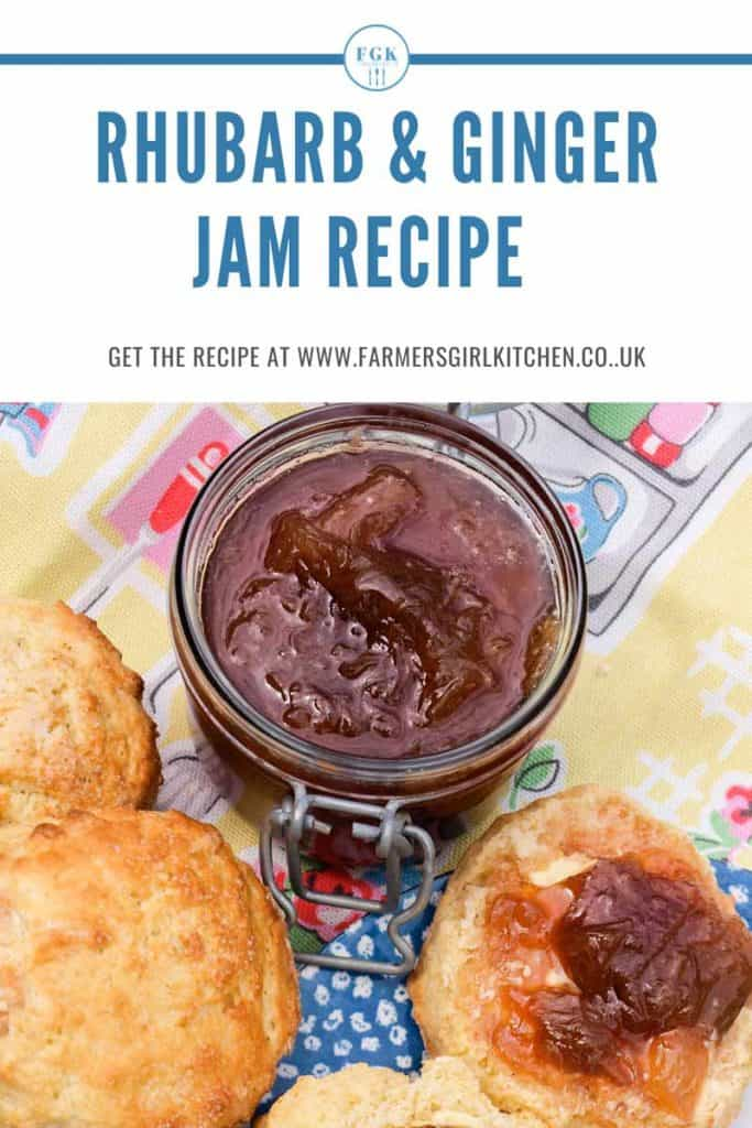 Rhubarb & Ginger Jam Recipe