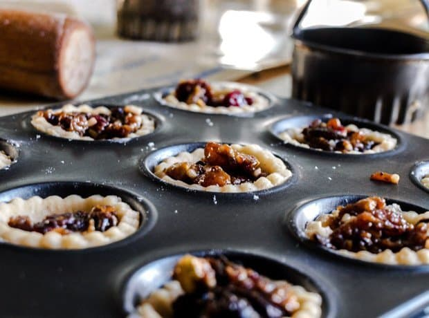 Mince pies with Instant Chocolate Mincemeat
