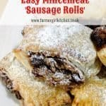 Mincemeat pastries