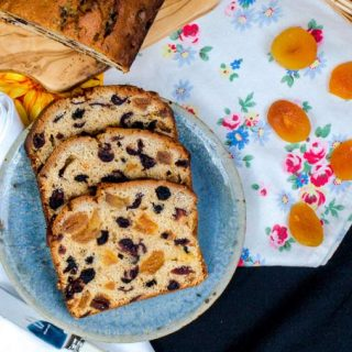 Studded with golden apricots, this tea bread is the perfect snack