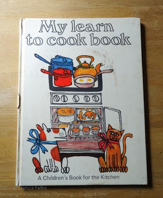 My Learn to Cook Book was my First Cookbook