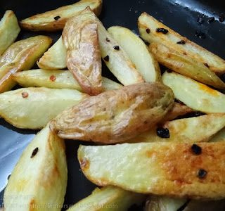 Spicy Smoky Chipotle Chilli Potato Wedges