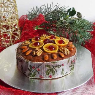 Light and Fruity Whisky Marmalade Christmas Cake