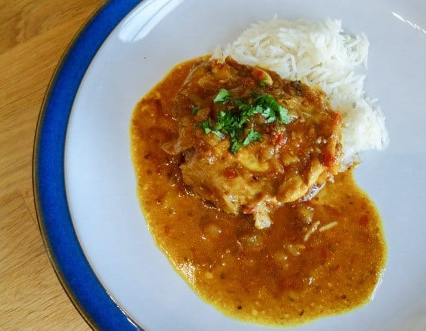 Try this Super Simple Chicken Curry Recipe from Dhruv Baker