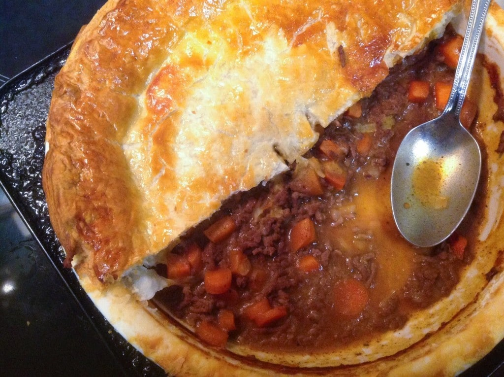 Serve up this Speedy Beef and Vegetable Pie to your family