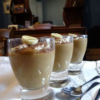 Butterscotch Pudding - so retro and so delicious
