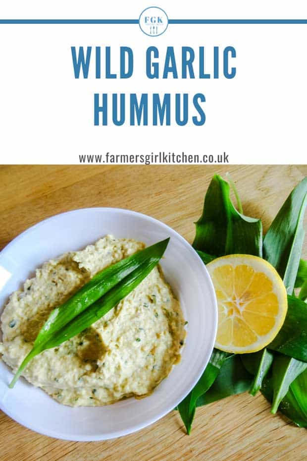 Wild Garlic Hummus Recipe