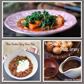 Slow Cooked Vegetarian dishes