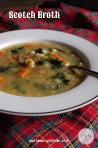 How to make Scotch Broth like a Scot - a warming bowl of broth thick with pulses and vegetables, this vegetarian version of Scotch Broth is sure to be popular #soup #broth #scotch #vegetarian