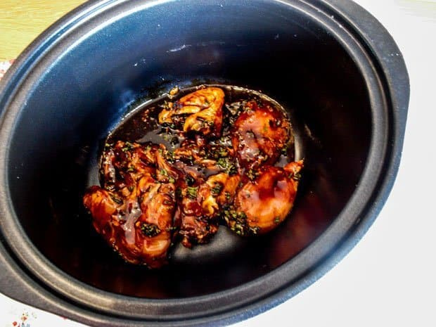 Slow Cooker Honey and Soy Chicken so easy to make and so delicious