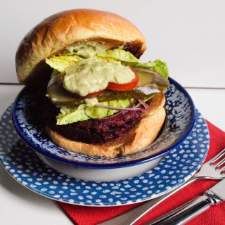 Elly Pear's Beetroot Burgers