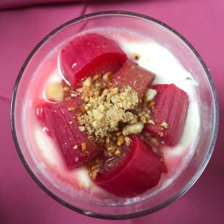 Scottish Rhubarb Cranachan