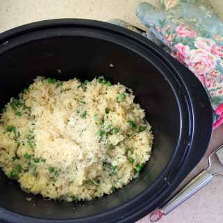 How to make easy Slow Cooker Risotto #risotto #slowcooker #crockpot #recipe