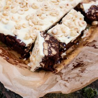 Chocolate Tiffin - no bake chocolate biscuit cake