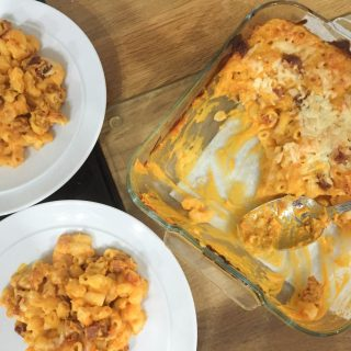 Packed with flavour this Chorizo Butternut Squash Macaroni and Cheese is just so good!