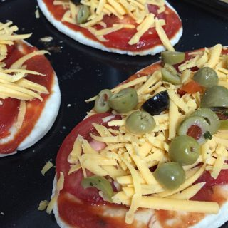 Quick and Easy Pitta Pizzas