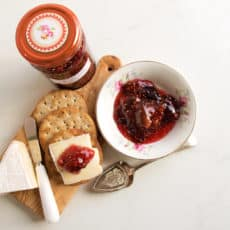 It's easy to make this tasty Fig and Lime Jam, ideal to serve with cheese