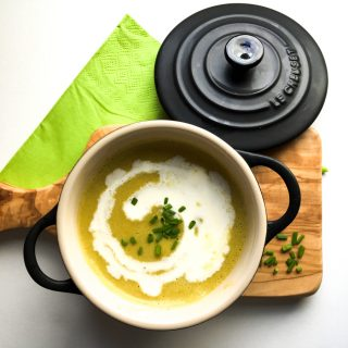 Don't throw out that limp lettuce - make lettuce soup