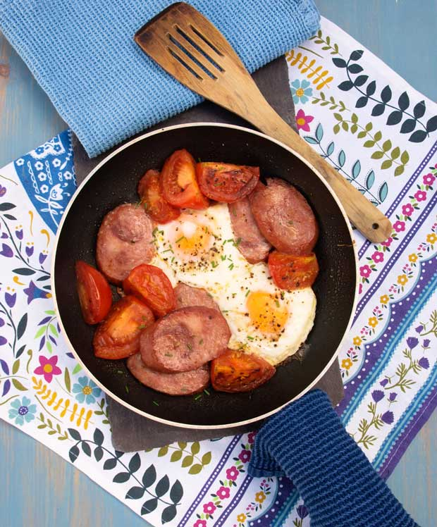 Totally delicious One Pan Polish Breakfast