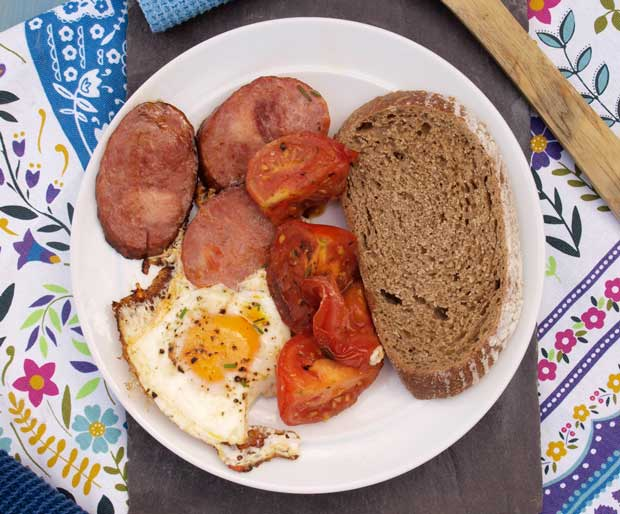 We loved this One Pan Polish Breakfast from Wild Honey and Rye