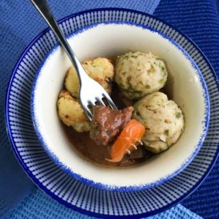 I share my 6 Secrets of the Best Beef Stew and Dumplings