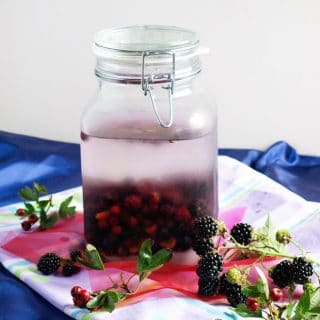 How to make Hedgerow Vodka with foraged fruit
