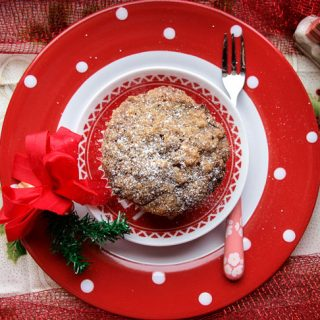 You'll love these Festive Apple and Mincemeat Streusel Muffins