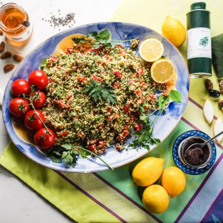 Lemon and Mint Tabbouleh Salad