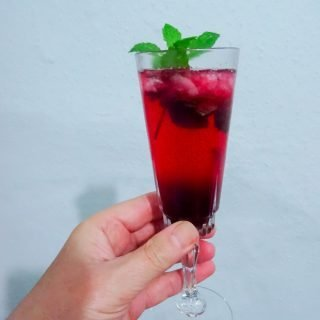 Gin and Blackberry Cocktail