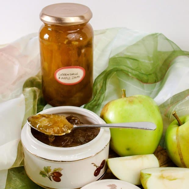 Greengage and Apple Jam