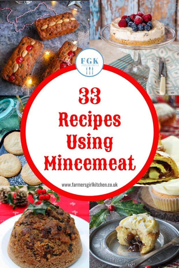 33 Recipes using MIncemeat