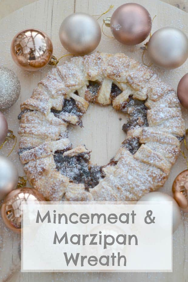 Mincemeat and Marzipan Wreath