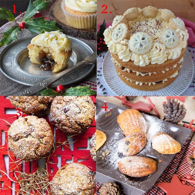 Cakes made with mincemeat
