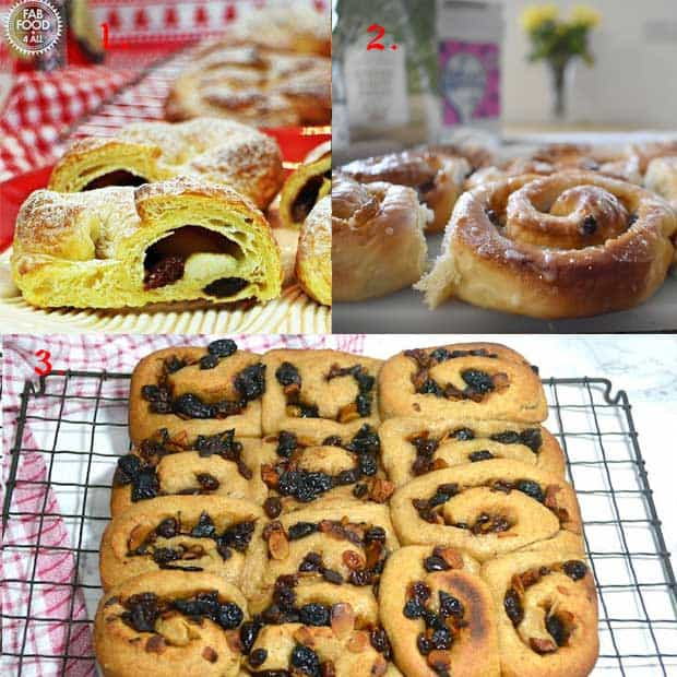 Sweet Bread with mincemeat