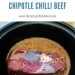 Slow Cooker with Chilli Beef