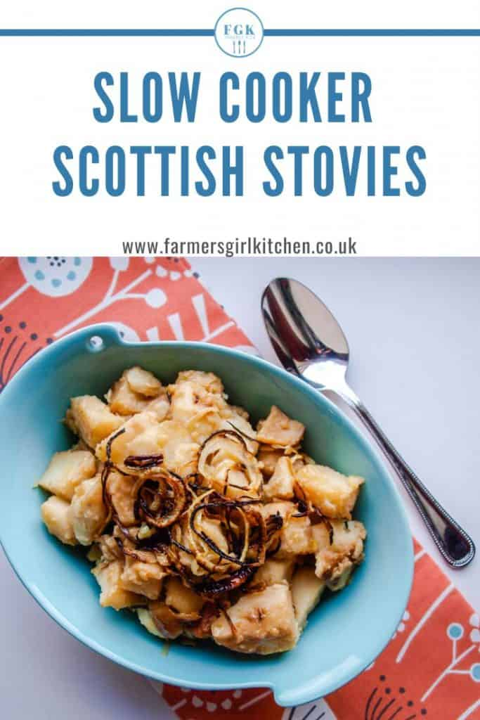 Slow Cooker Scottish Stovies