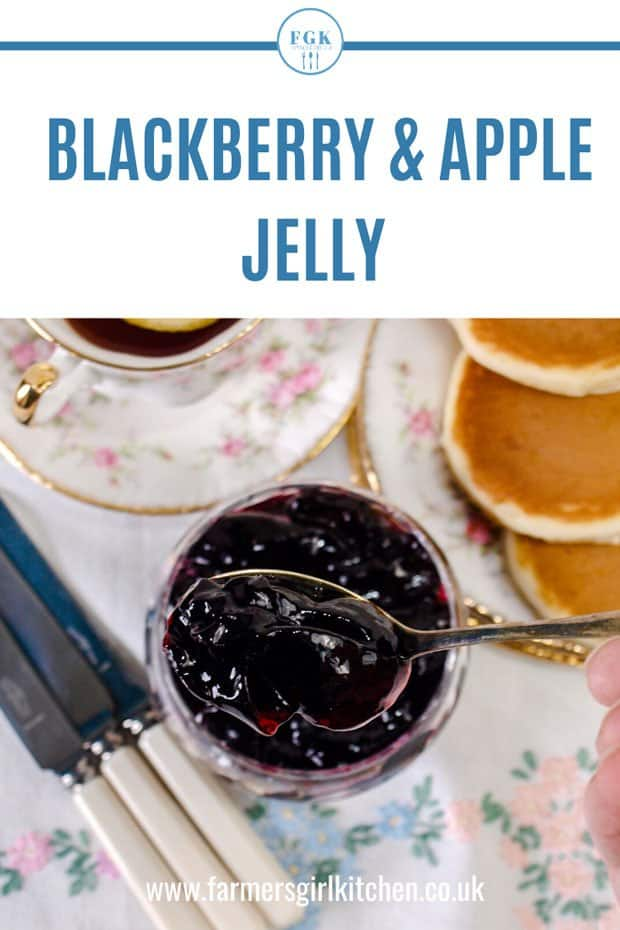 Blackberry & Apple Jelly Recipe