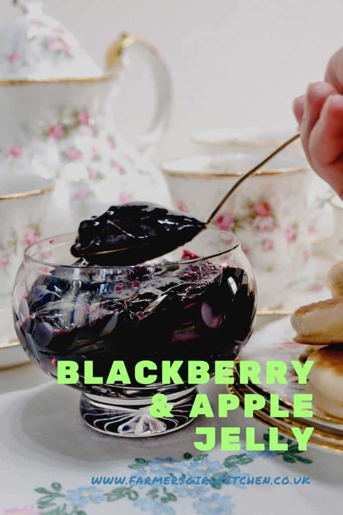 Recipe for Blackberry & Apple Jelly